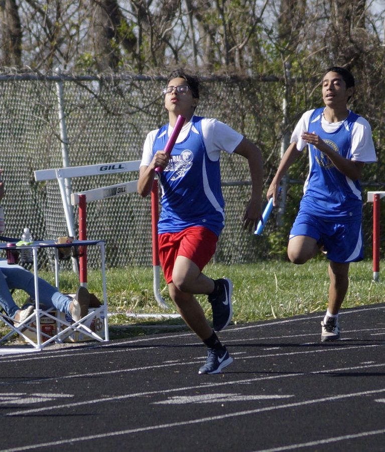 Track Takes Second at First Meet