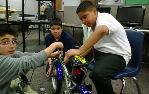 Central Middle Bike Club Gears Up and Hits the Street