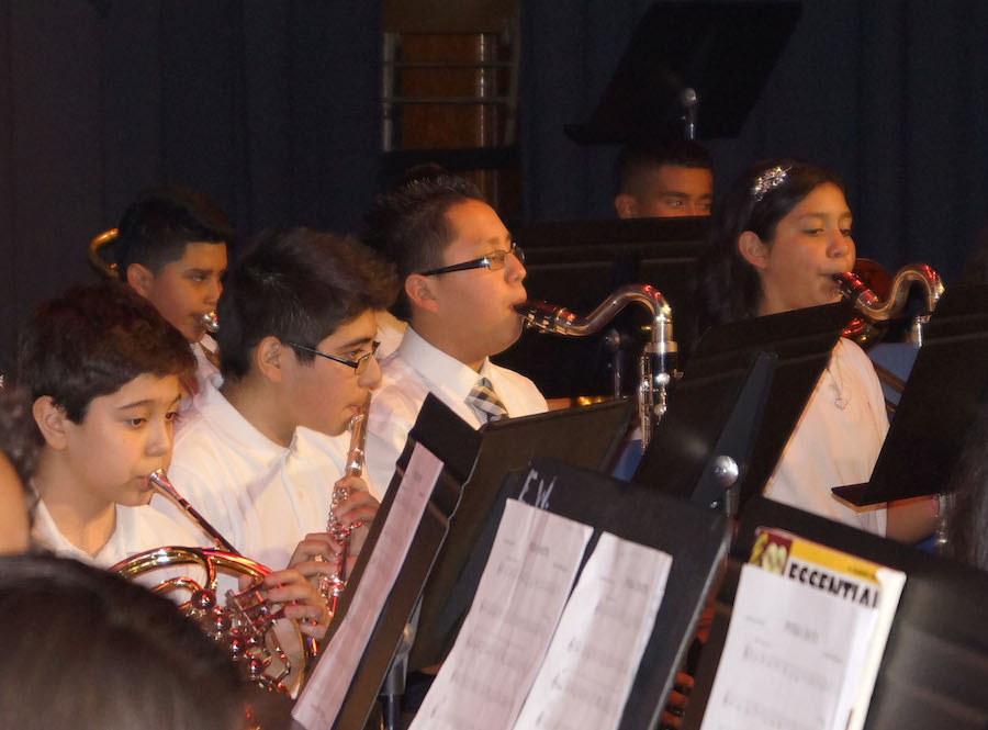 Band & Orchestra Play to a Packed House