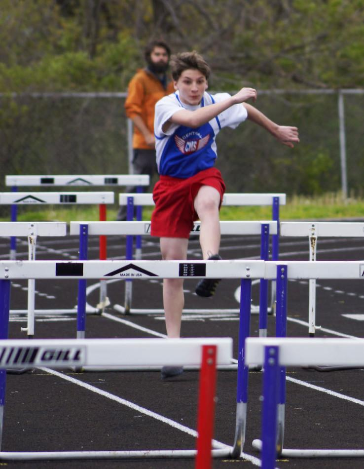 Boys Track Team Perfect First Place at Meets; Girls Team 5-3