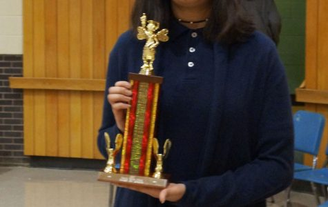 Ximena Ordaz Wins Central Spelling Bee