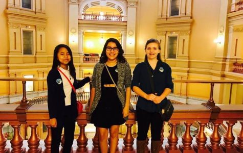CMS Students Pages for Rep. Parker at Capitol