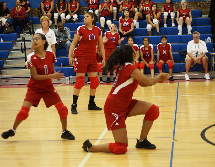 Volleyball Teams Win First Home Match Against West