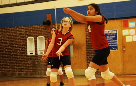 Volley Ball Teams Start Season with Victories over Arrowhead