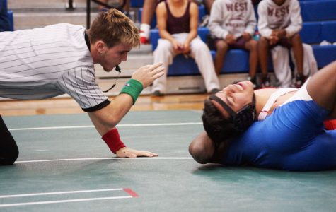 Wrestlers Pour on the Intensity at Tournament Saturday