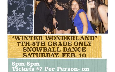 "Snowball Dance ""Winter Wonderland"" Feb. 10th 6-8pm"