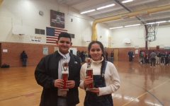 Wendy Viveros & Andrew Serrano Place 1st and 2nd in Debate Tournament