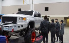 Students Attend Car Show