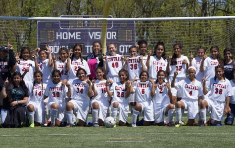 Girls' Soccer: Undefeated Again! 7-0 Win Against West!
