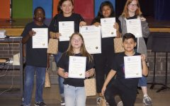 Drama Club Members Inducted Into International Thespian Honor Society