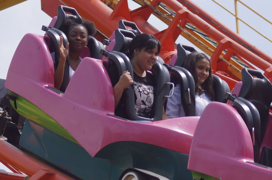8th Grade Celebrate End of Middle School at Worlds of Fun