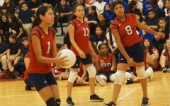 Volleyball Team Slams Teachers: First Student Win in a Decade!