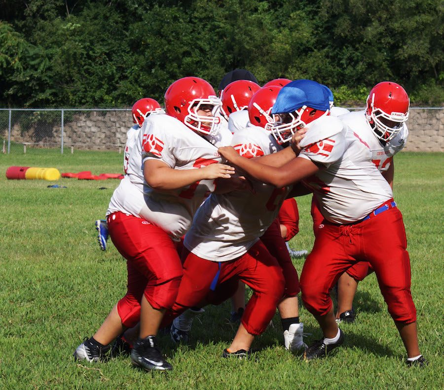 Football: Ready to Hit and Tackle at First Game Sat. 9/7 Game