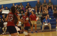 VB Teams Fall to Eisenhower in First Game