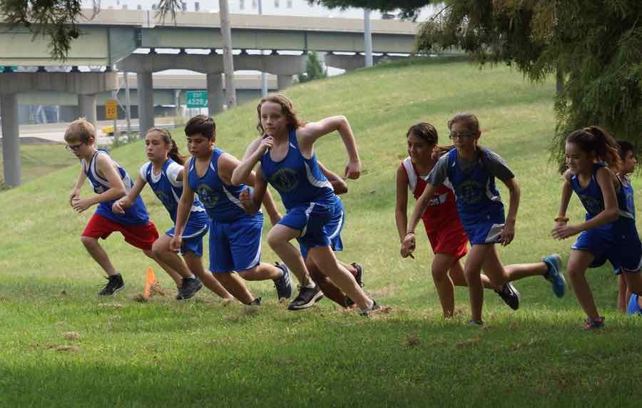 Cross Country: Running a Mile or 2-Mile Course
