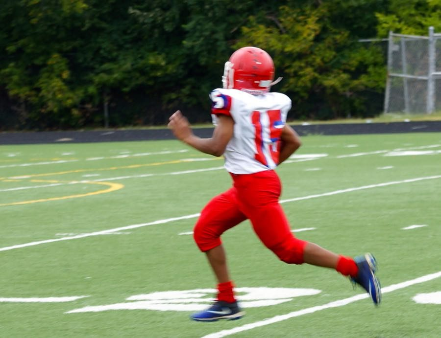 Jaleel Black Scores Only Touchdown at 1:13 Left in Game