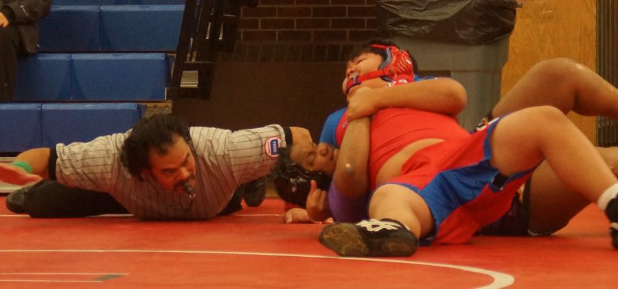 Wrestlers Win Against Sumner and Eisenhower
