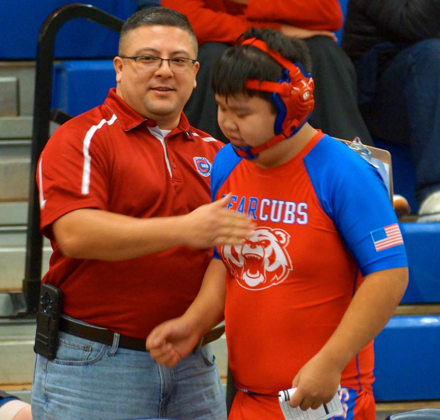 Nathan Maikho Takes First at Wrestling District Tournament